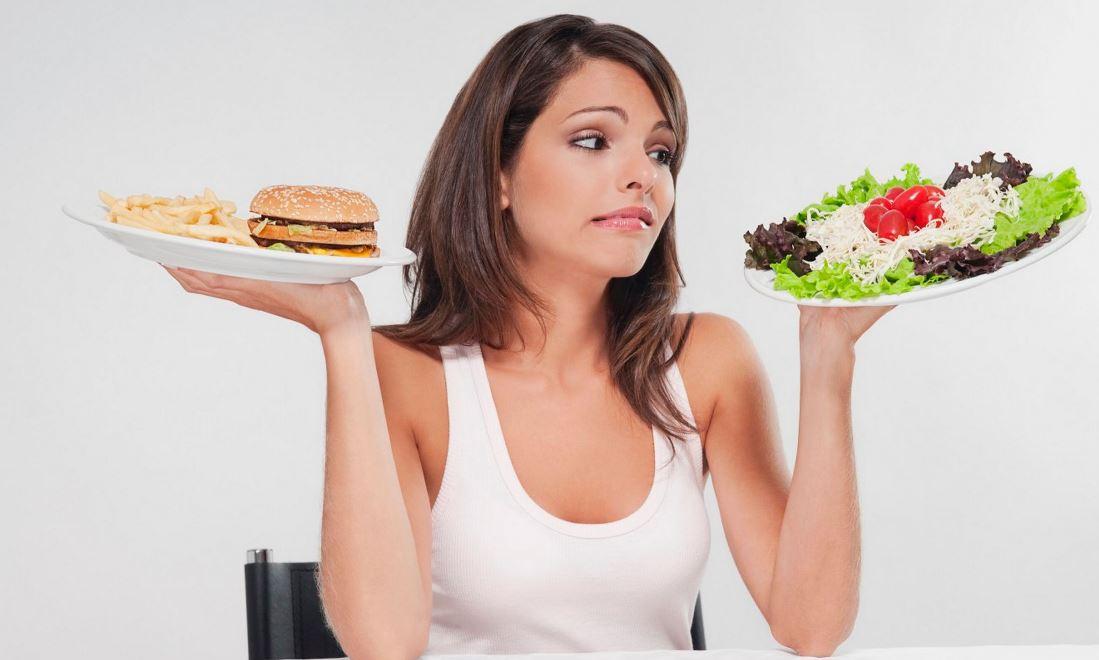 خيار الأكل الصحي