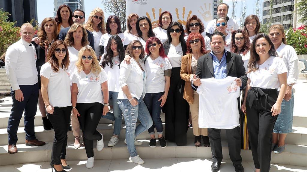 المشاركون في إطلاق الحملة