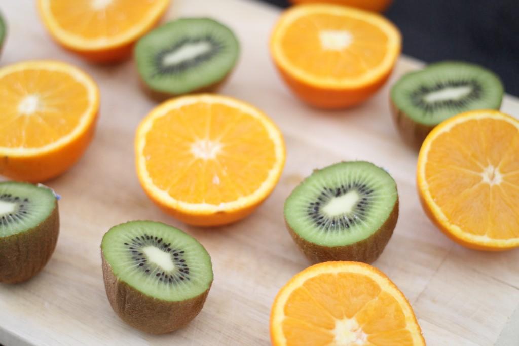 البرتقال والكيوي لصحة ممتازة هذا الموسم
