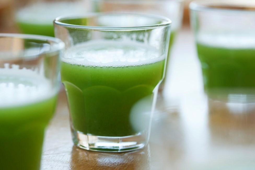 العصائر الخضراء رائعة لمحاربة التعب