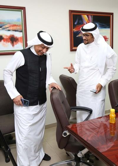 محمد زكي حسنين وحديث جانبي مع د. عبد الله رشاد