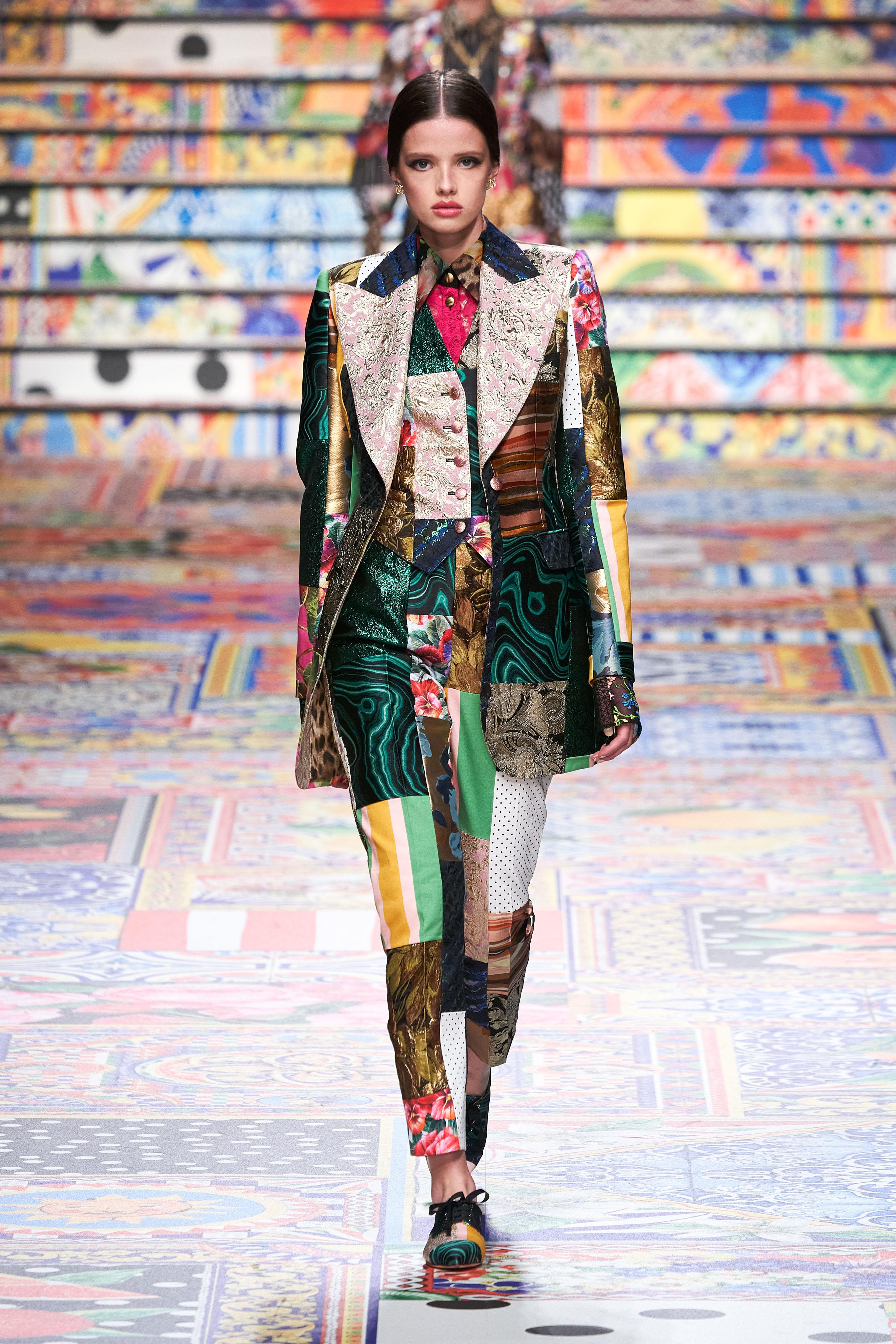 أجواء مدينة صقليى المبهجة تسيطر على عروض Dolce & Gabbana
