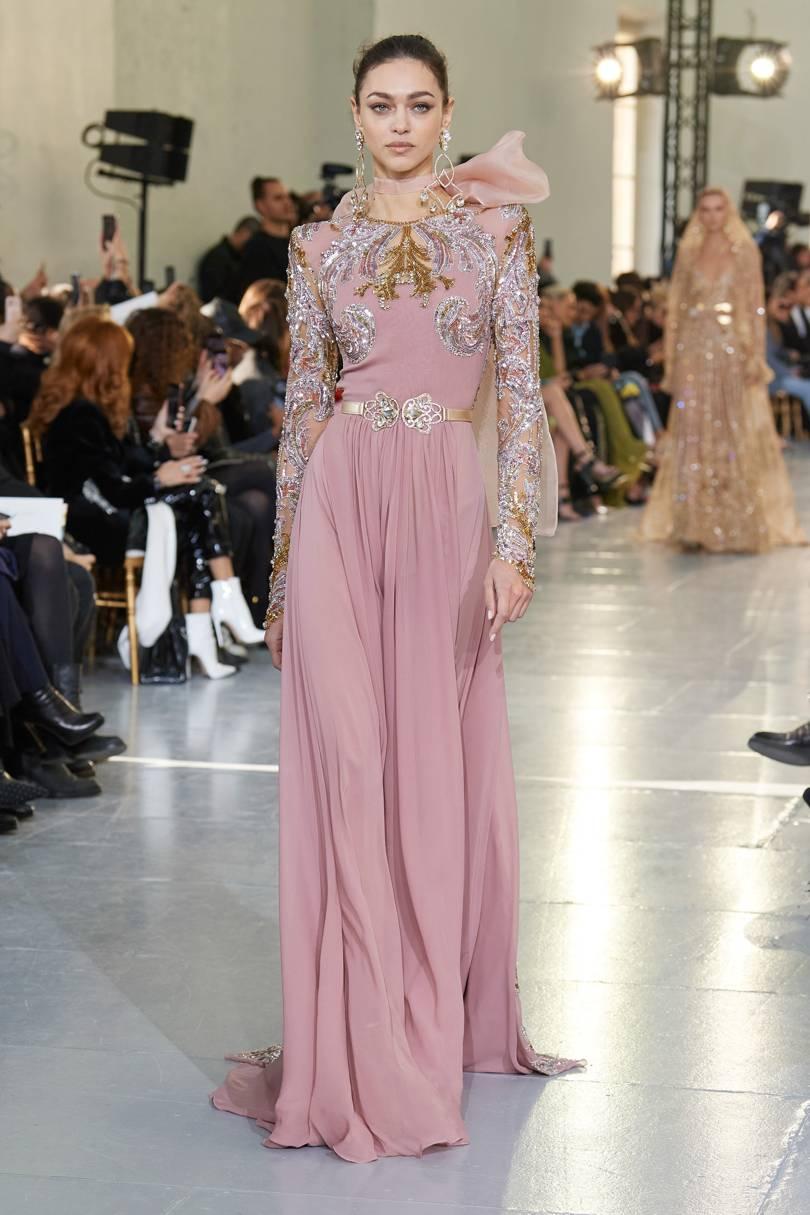 الفساتين المخملية من إيلي صعب Elie Saab