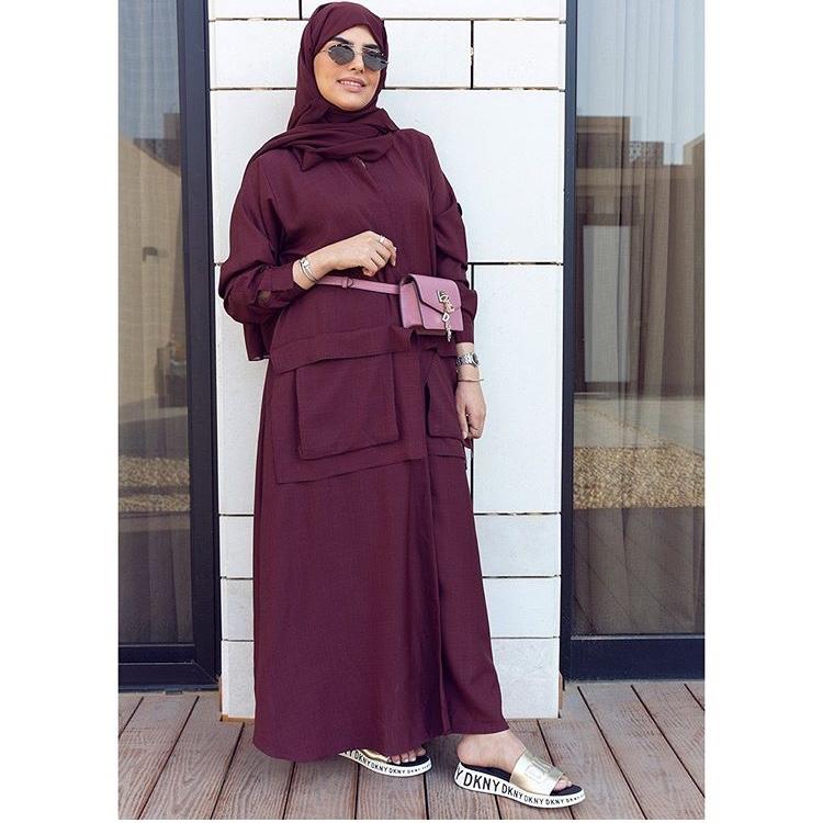 لفة الحجاب الشيفون سهلة وسريعة
