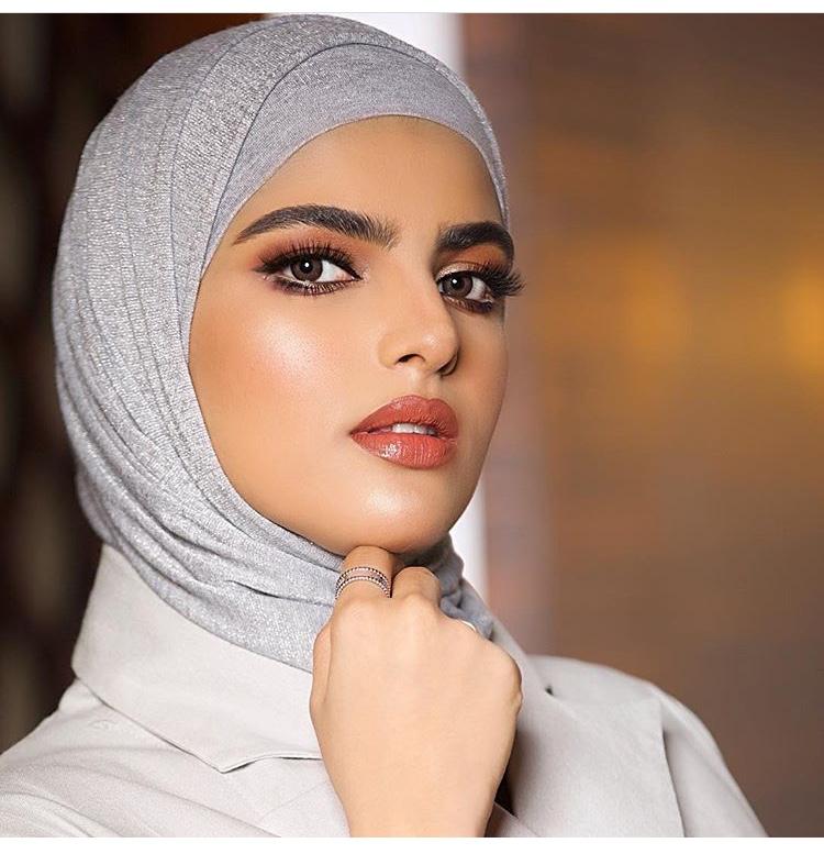 لفة الحجاب القطنية برباط محكم