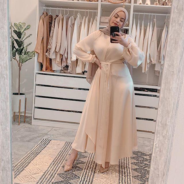 الفساتين الشيفون من أمية زين