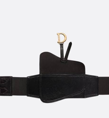 حزام الشنطة الجلد من ديور