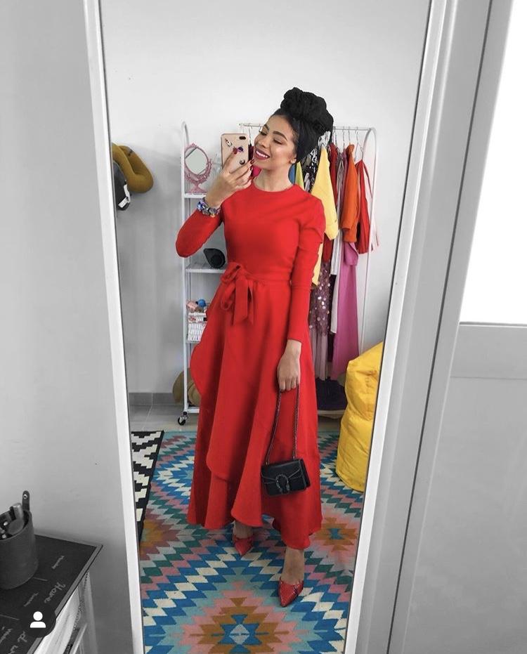الفساتين الكاجوال مع حزام الخصر