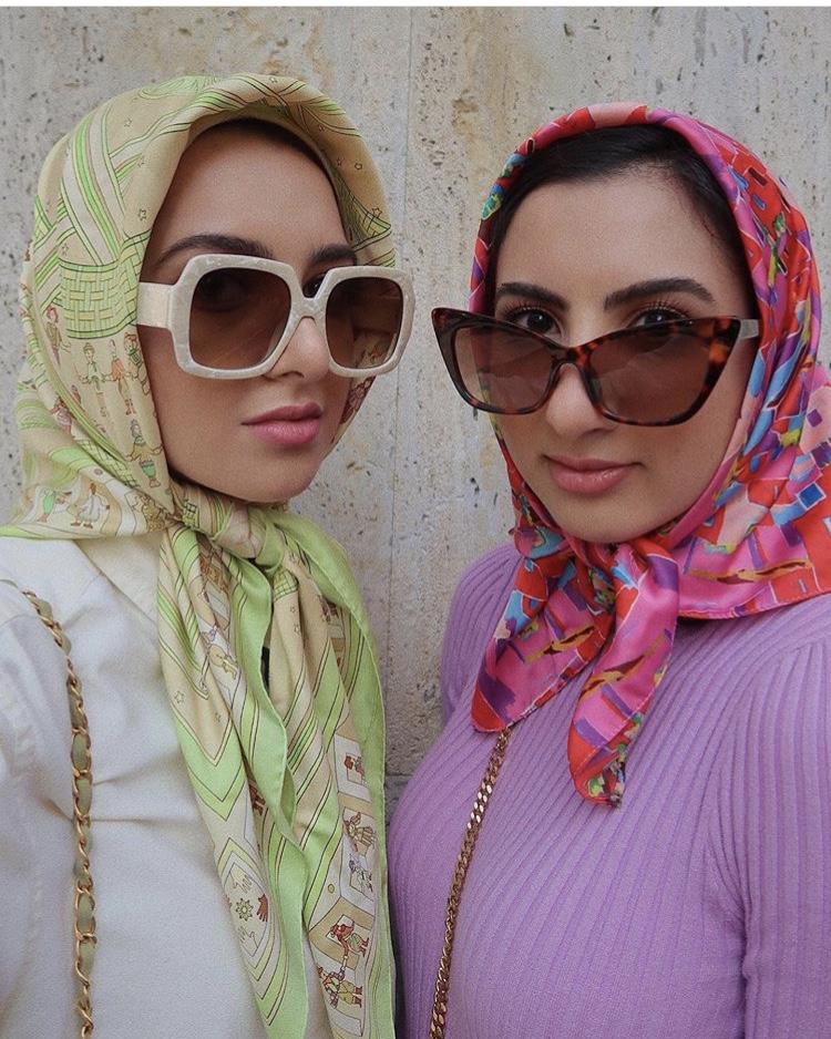 لفة الحجاب التركي مع السكارف بلمسة عصرية من سمر البارشا
