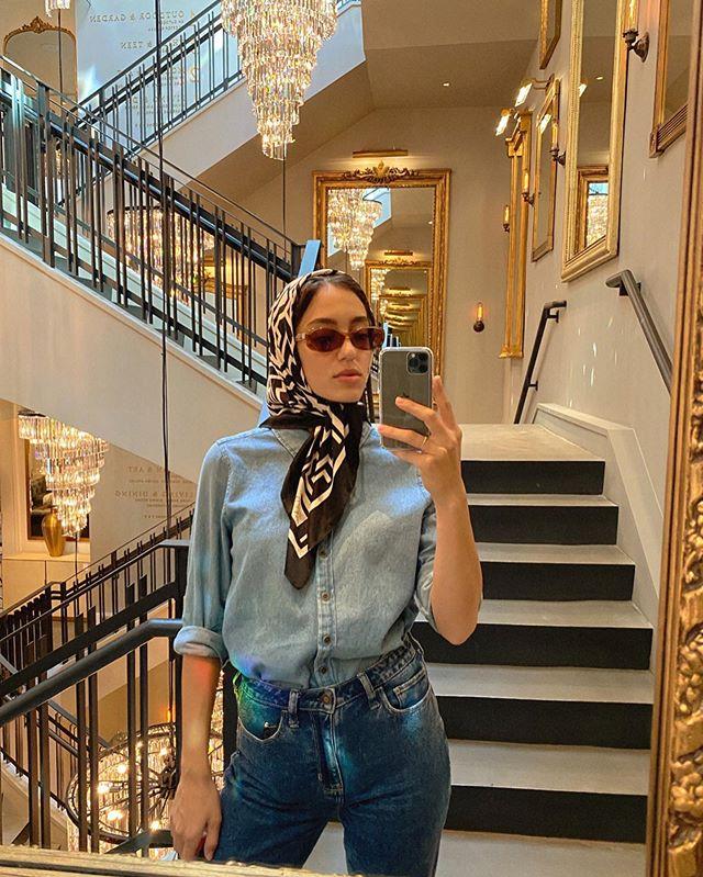 الحجاب السكارف