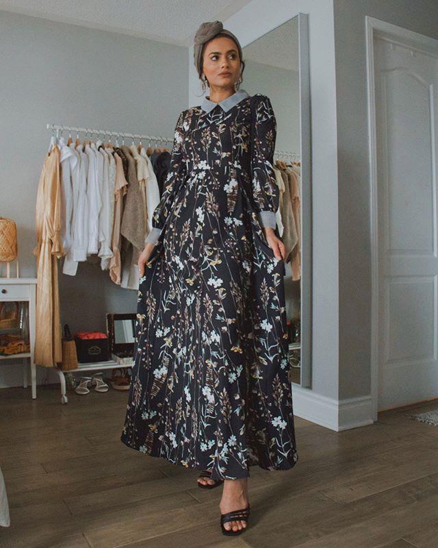 الفساتين الطويلة الملونة من الفاشينيستا ظهيرة