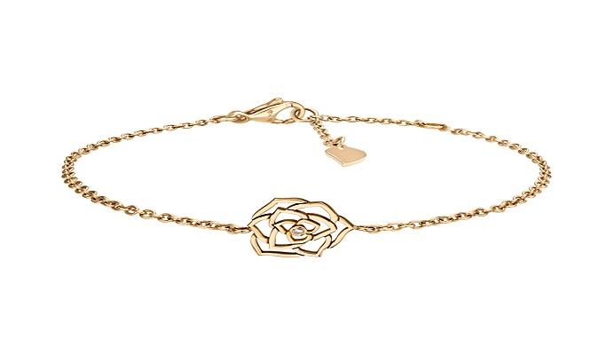 سوار بتصميم الورود من بياجيه Piaget