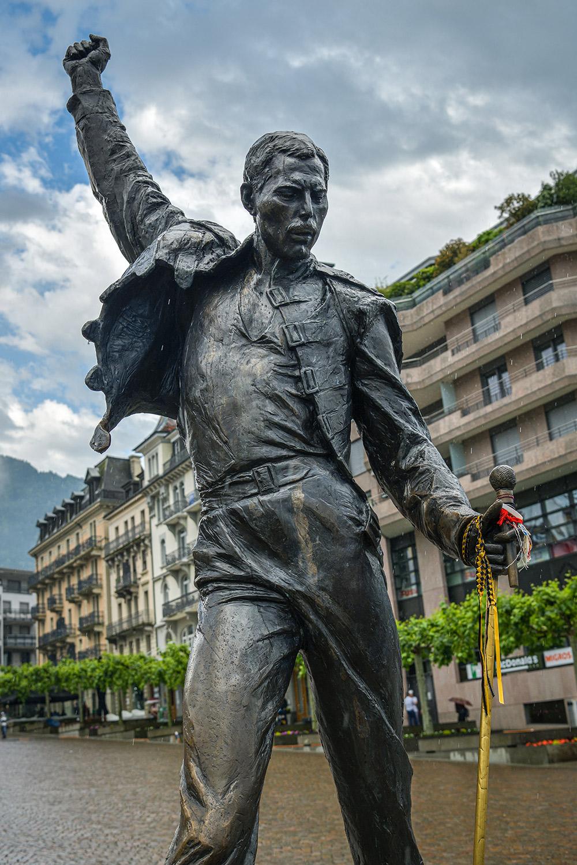 تمثال فريدي ميركوري