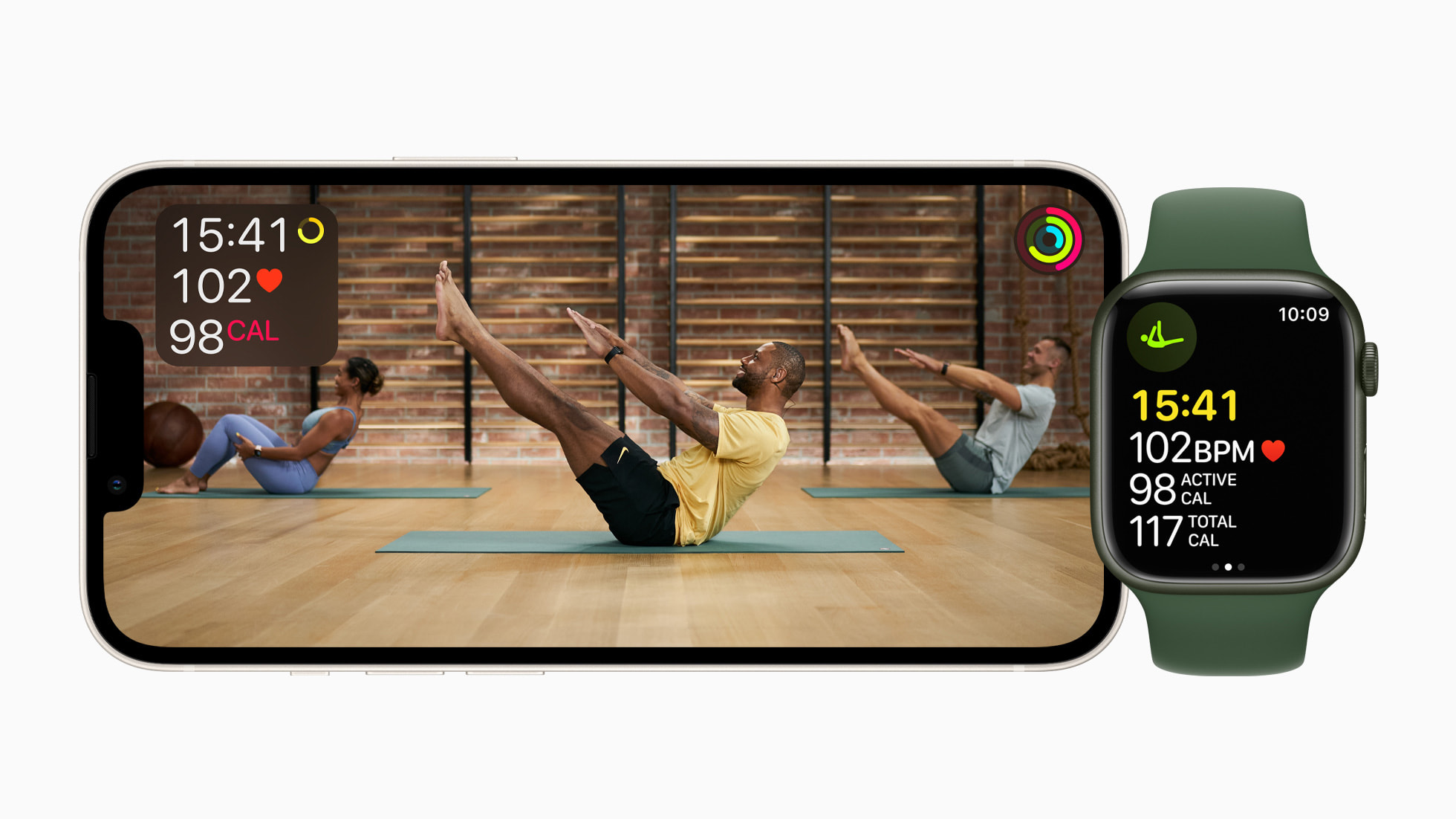 +Apple Fitness