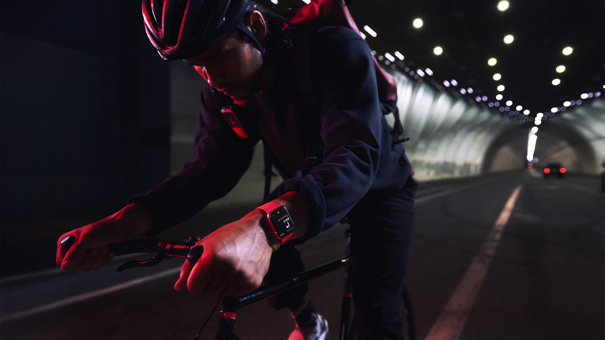 توفر watchOS 8 ميزات جديدة لأي شخص يقود دراجة هوائية