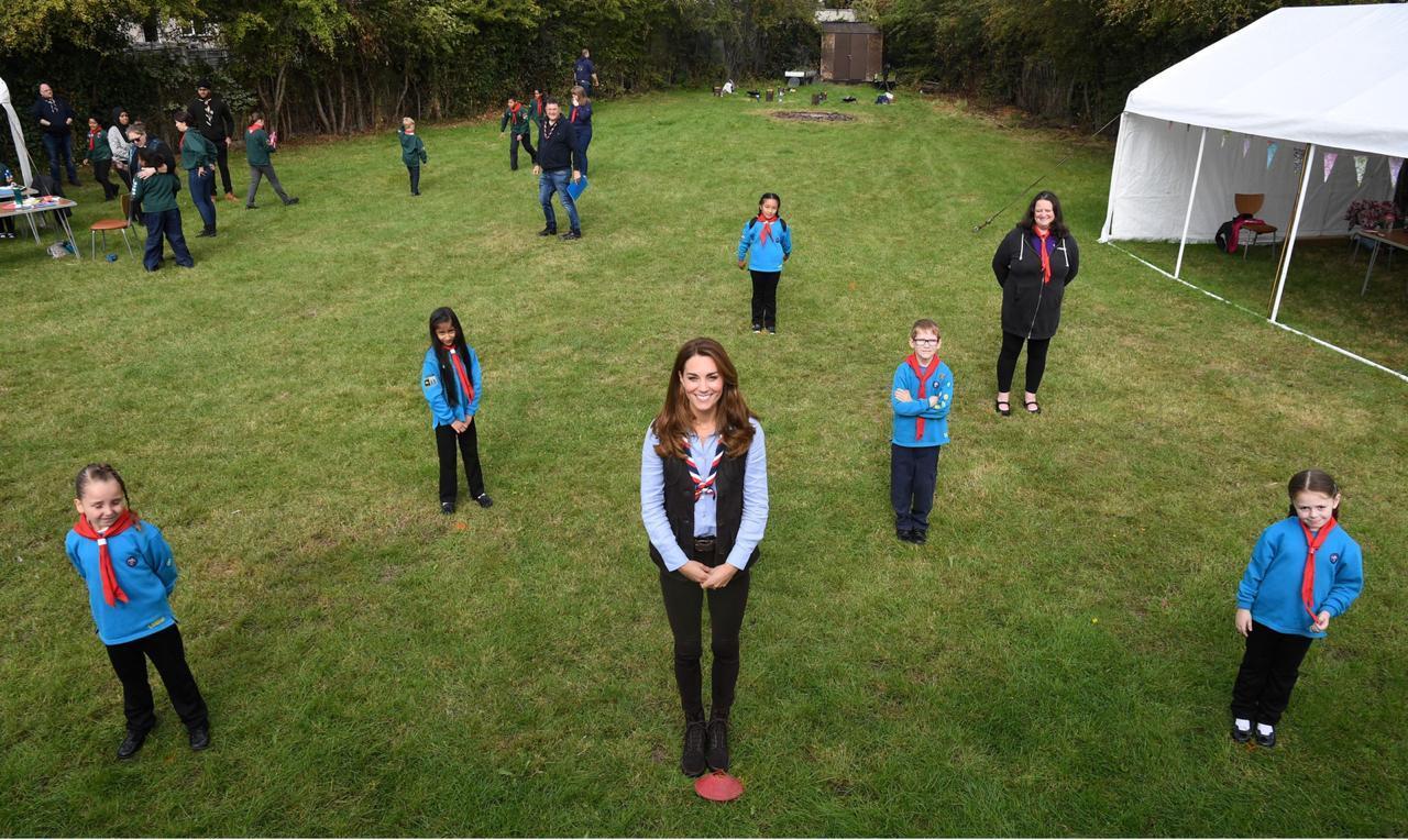 انضمت كيت ميدلتون لكشافة بيفر في نورثولت غرب لندن