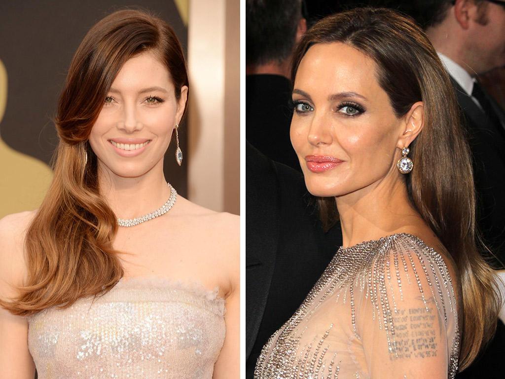 من هي جميلة حفل Oscar 2014 بمكياجها وشعرها؟