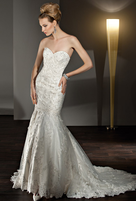 afc282044 للعروس النحيفة إليك فساتين زفاف الحورية! | مجلة سيدتي