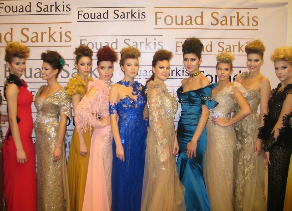 فؤاد سركيس يعرض مجموعته الجديدة في اسطنبول