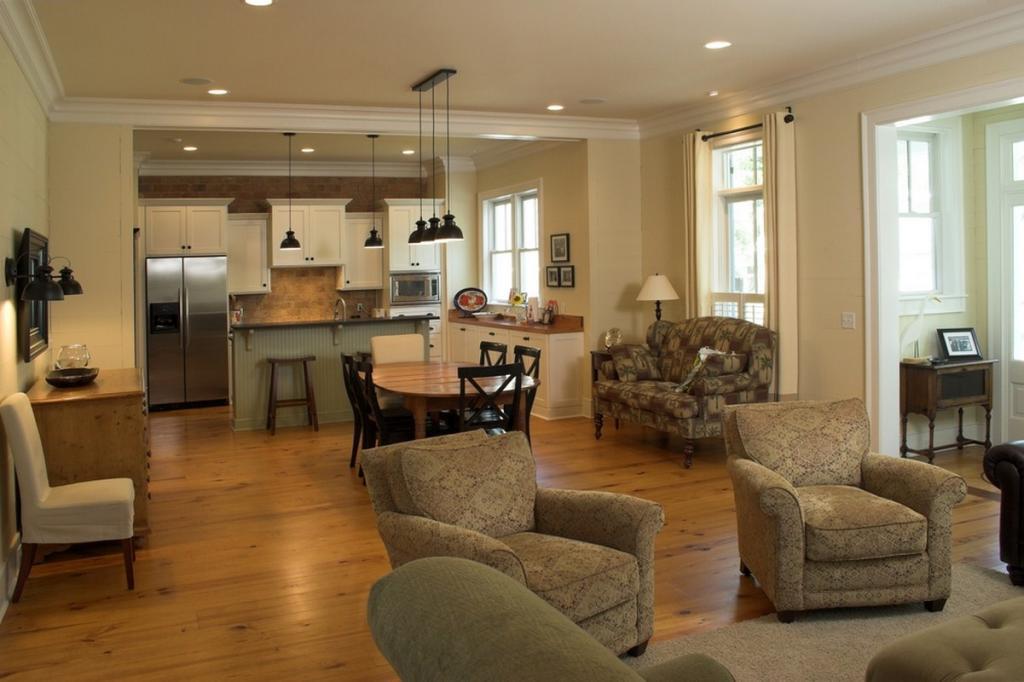 Second Home Decorating Ideas: كيف تحققين التناغم بين ديكوري المطبخ والصالون؟
