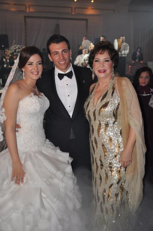 زفاف أسطوري لدنيا سمير غانم ورامي رضوان مجلة سيدتي