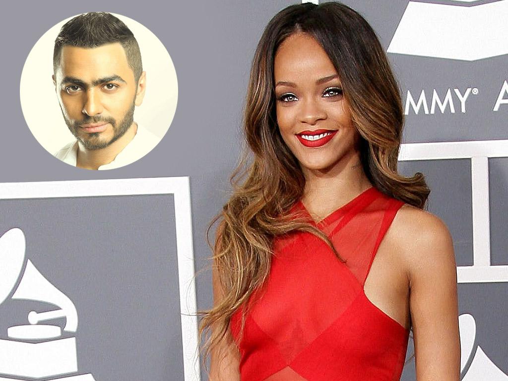 هل سيغني تامر حسني في عيد ميلاد Rihanna؟