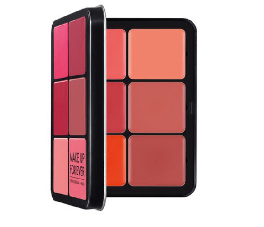 3 بلاشر كريمي من فور إيڤر Ultra HD Blush Palette MAKE UP FOR EVER