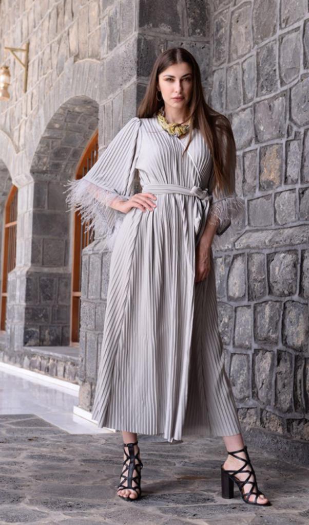 3 فستان لمناسبات رمضان والعيد للمصممة حنان الراضي