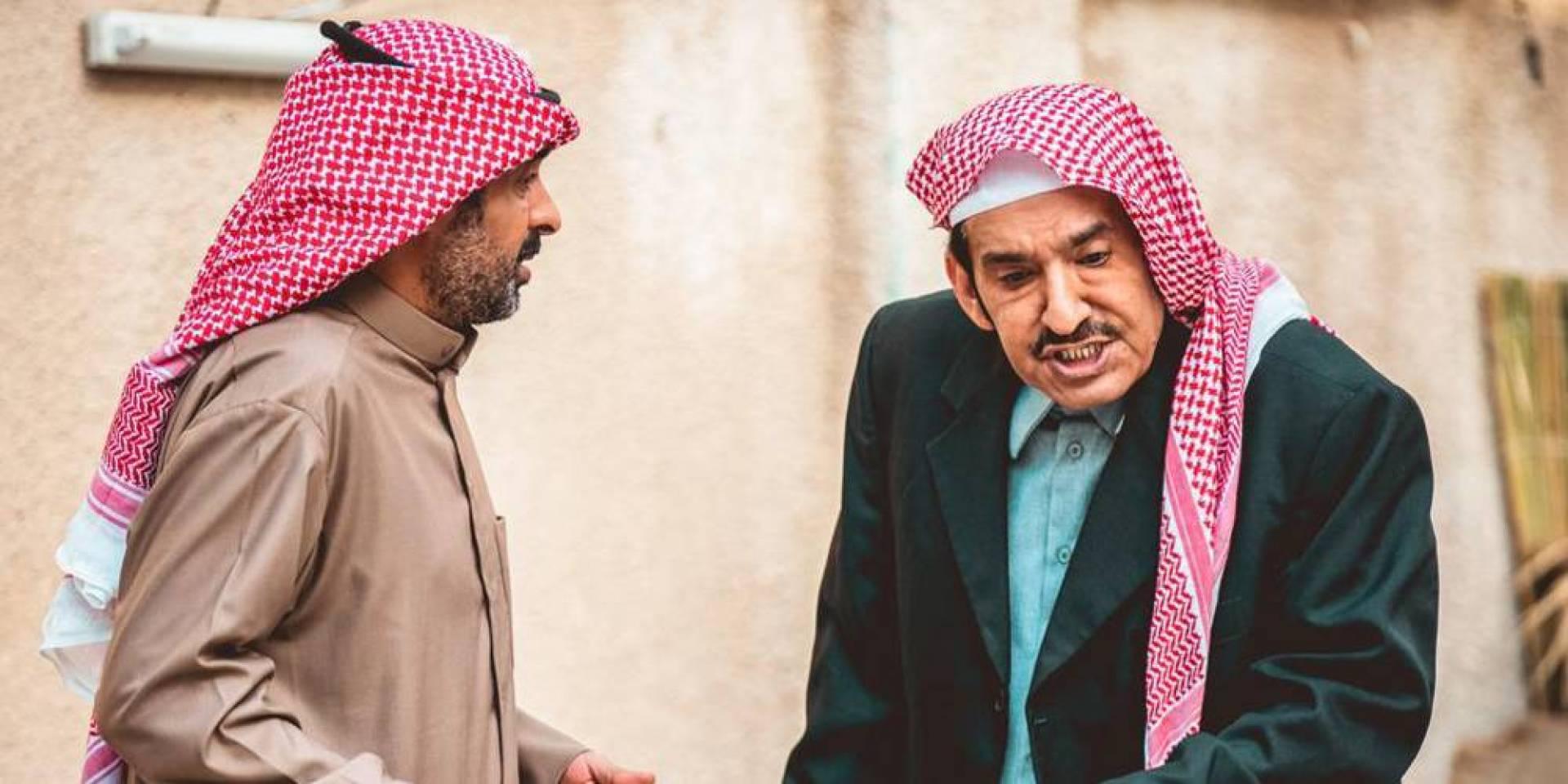 عبد الله السدحان من كواليس مسلسل شليوي ناش