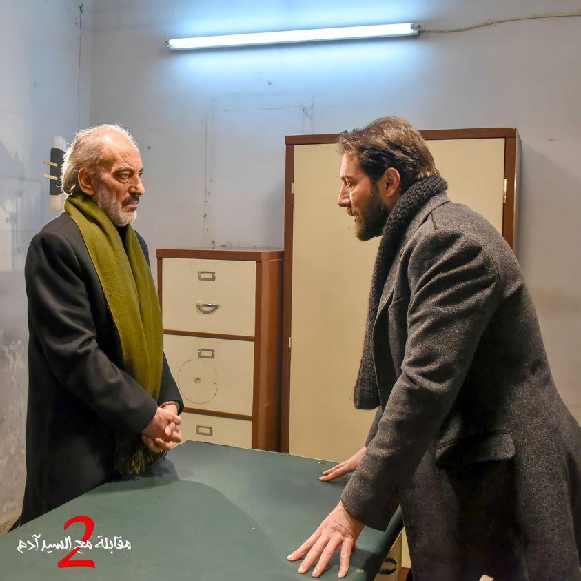 غسان مسعود ومحمد الأحمد من كواليس مقابلة مع السيد آدم