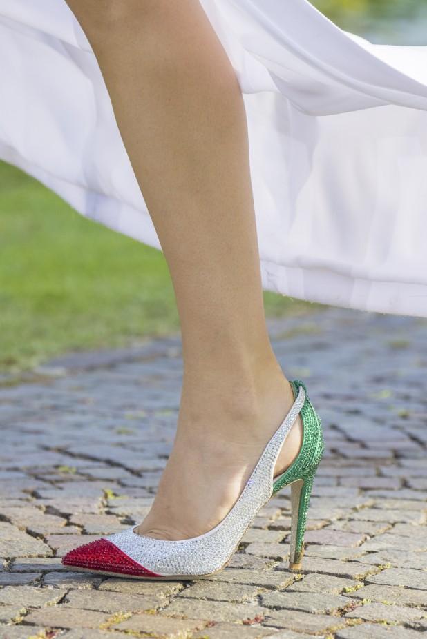 حذاء ملون من جيني Genny