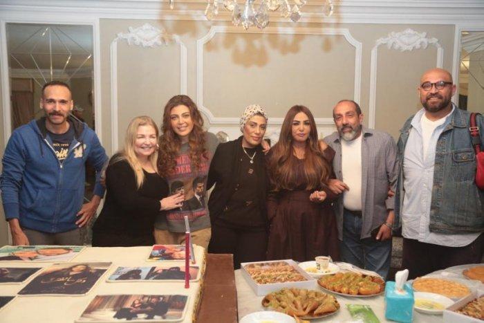 أحمد صيام وسلوى خطاب أبرز الحاضرين لاحتفالية انتهاء التصوير