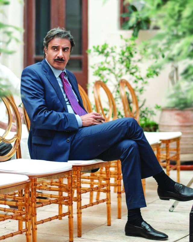 حسين المنصور من مسلسل سرك الخافي