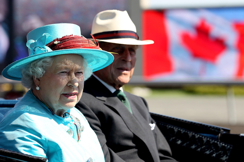 الملكة إليزابيث والأمير فيليب--الصورة من أنستغرام