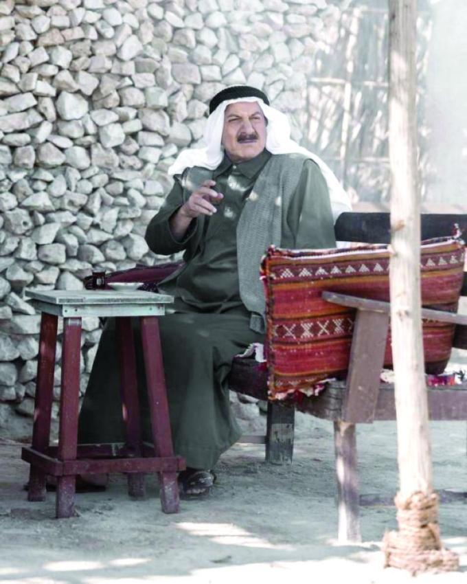 محمد المنصور من مسلسل الناموس