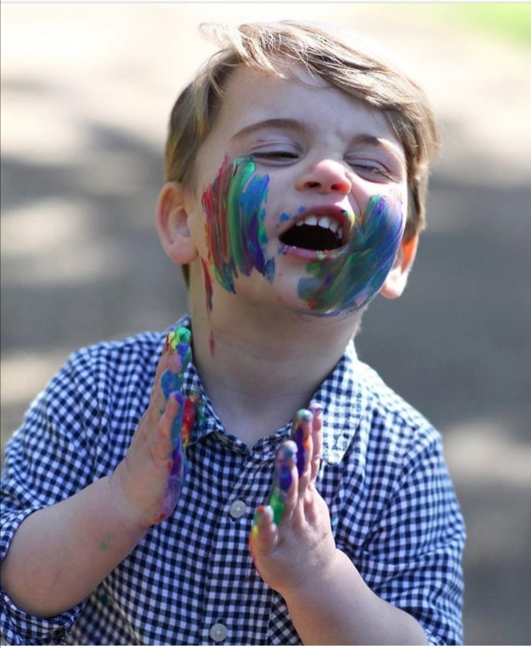 صورة الأمير لويس العام الماضي -الصورة من إنستغرام