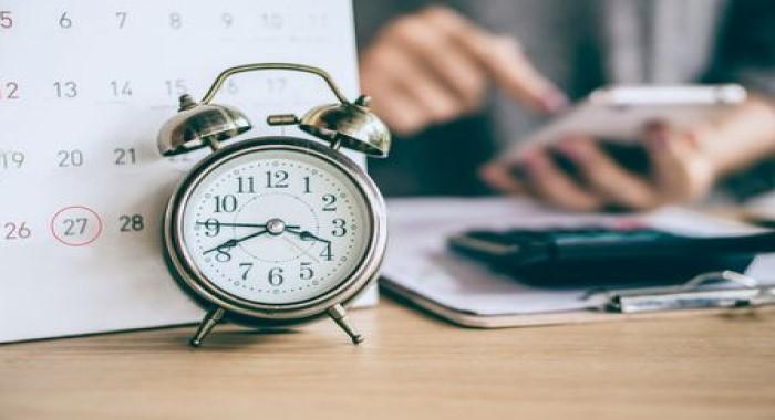 تنظيم الوقت- تعبيرية