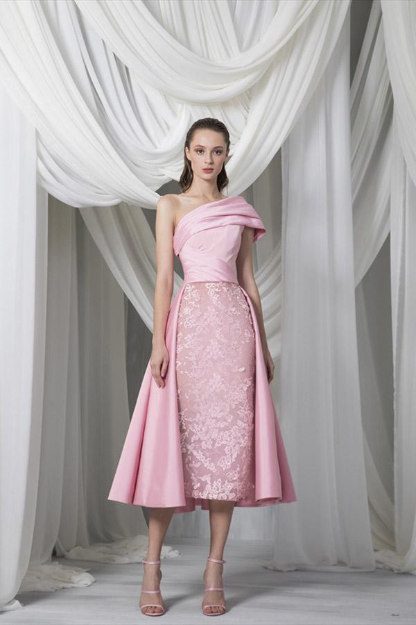 فستان تصميم طوني ورد