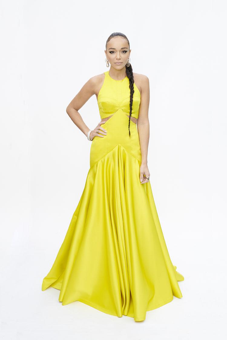 آشلي مادكوي ترتدي من Louis Vuitton. الصورة من موقع النجمة على انستقرام