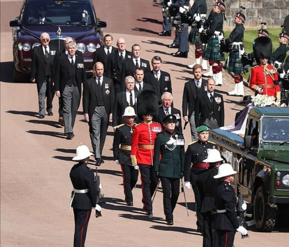 جنازة الأمير فيليب– الصورة من إنستغرام