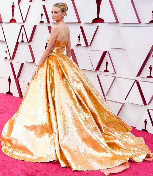 الصورة من حساب Oscars.awards.2021 على انستغرام