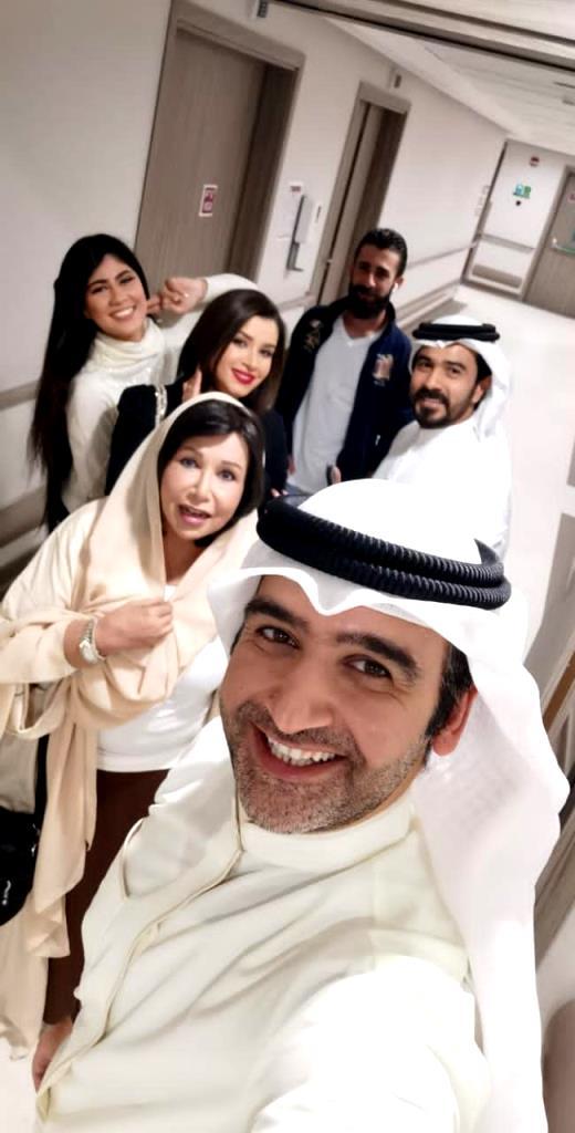 مريم الغامدي وفريق  عمل مسلسل عود حي