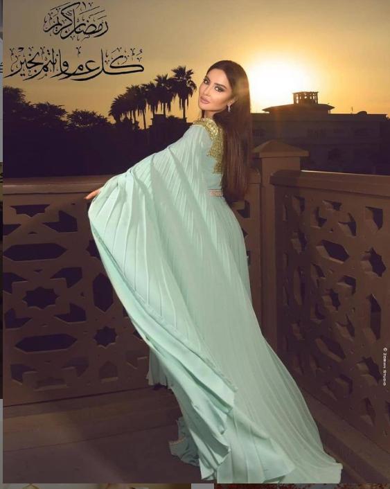 صورة من حسابها على انستغرام @mayssamaghrebi