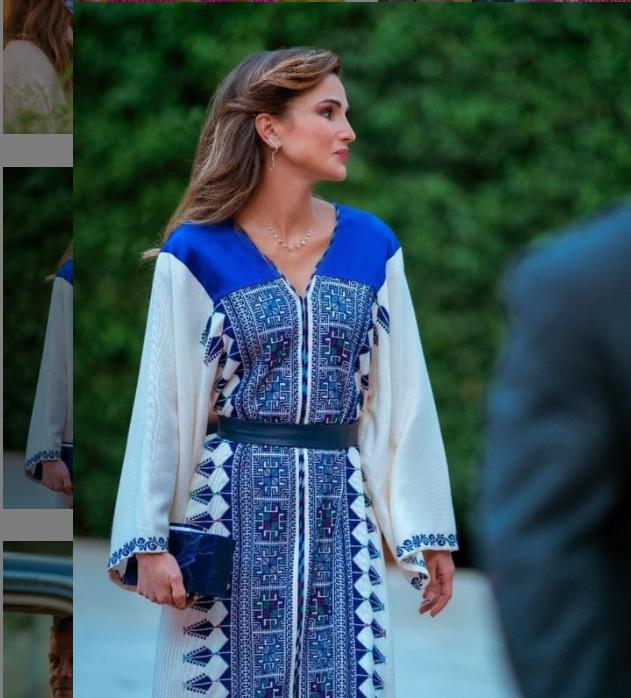 من حساب جلالة الملكة رانيا على انستغرام