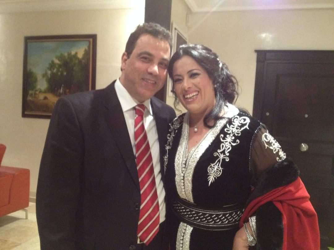 سعيدة باعدي  وزوجها المخرج حميد باسكيط
