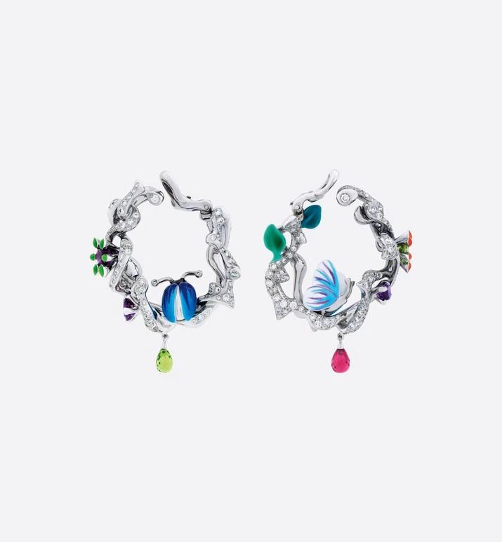 أقراط مجموعة ميلي كارنيفورا من علامة ديور «Dior»