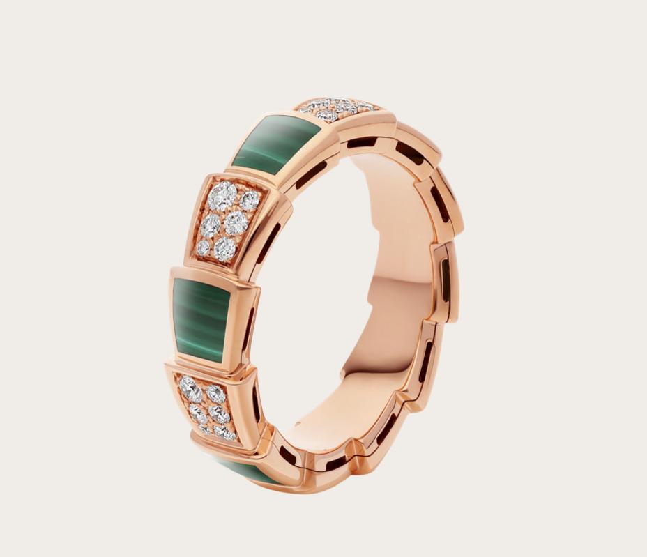 سيربنتي فايبر خاتم من علامة بولغاري «Bvlgari»