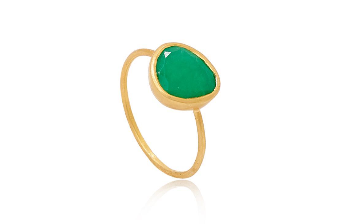 خاتم حجر الكريسوبرايس من بيبا سمول Pippa Small