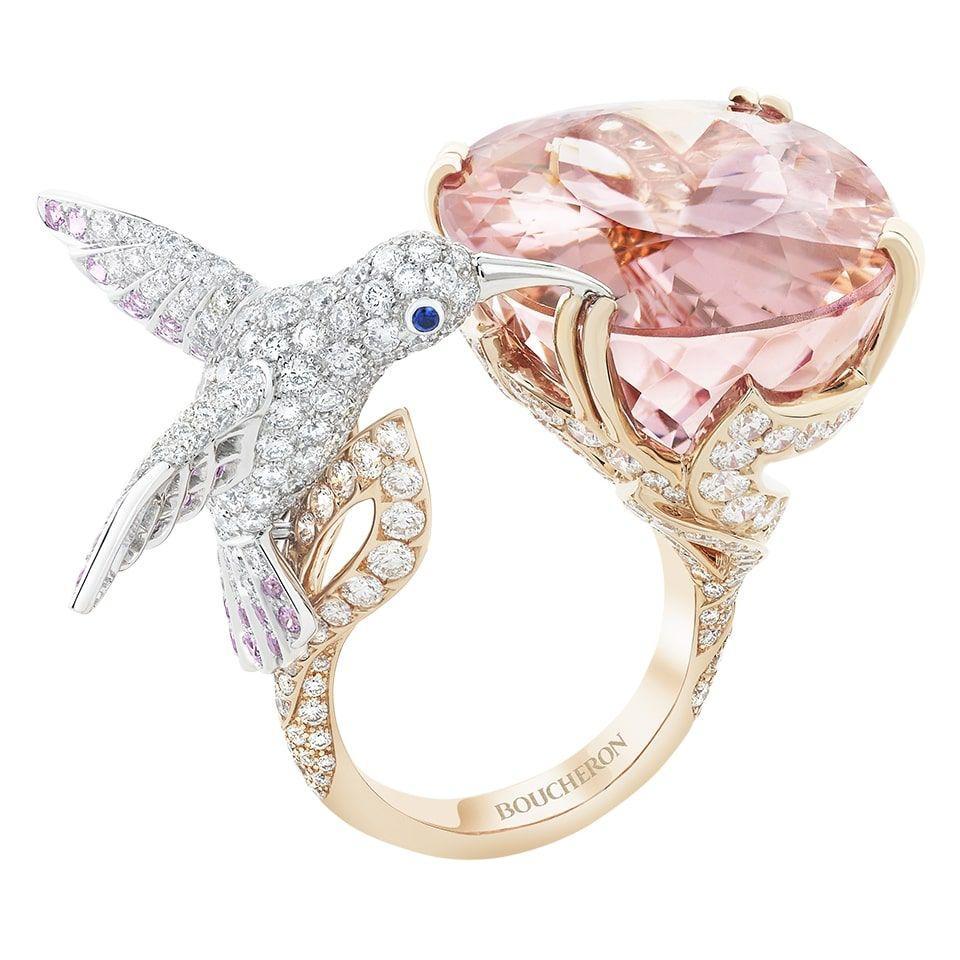 خاتم الطائر الطنان من بوشرون Boucheron