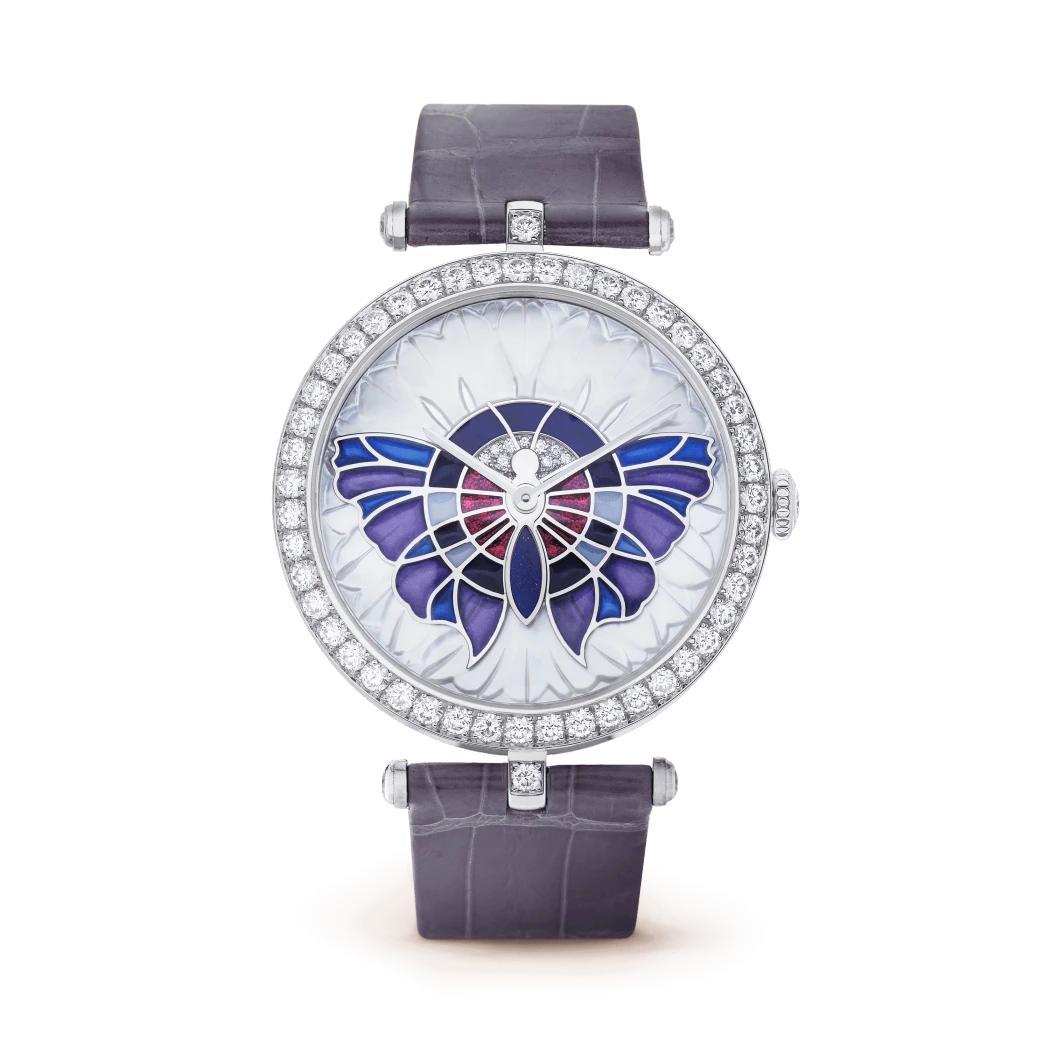 ساعة لايدي آربلز بابيون إكسترا أوردينار من فان كليف أند آربلز Van cleef & arpels